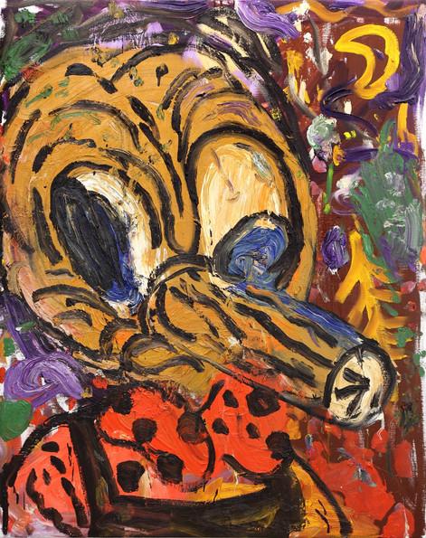 ARMEN ELOYAN Pinocchio, 2013 oil on canvas 155 x 123,5 cm