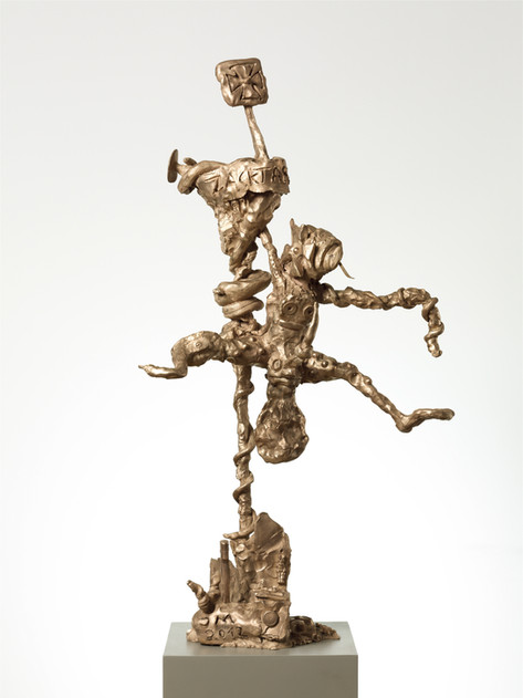 JONATHAN MEESE ZACKTARZANILLÉ (FUNKTION SCHMORGURKE), 2012 bronze 130 x 95 x 50 cm edition of 3 and 1 A.P.