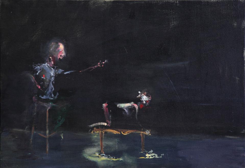 AARON VAN ERP, Filosofisch discours over schoonheid, 2011