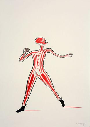HENK VISCH, drawing, 2007