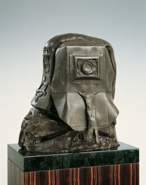 JONATHAN MEESE Ned Kellys de Feuerloch, 2007 bronze 59 x 54 x 45 cm edition of 3 and 1 A.P.