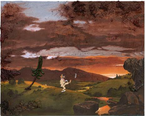 FRIEDRICH KUNATH On My Own Again, 2020-2021 oil on canvas 61 x 76,2 cm