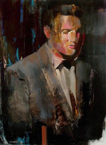 ADRIAN GHENIE Crying Madonna, 2009 oil on canvas 71 x 52 cm