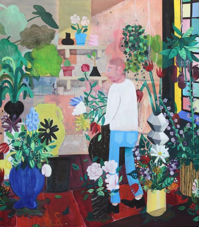BEN SLEDSENS, The Flowerstore, 2015