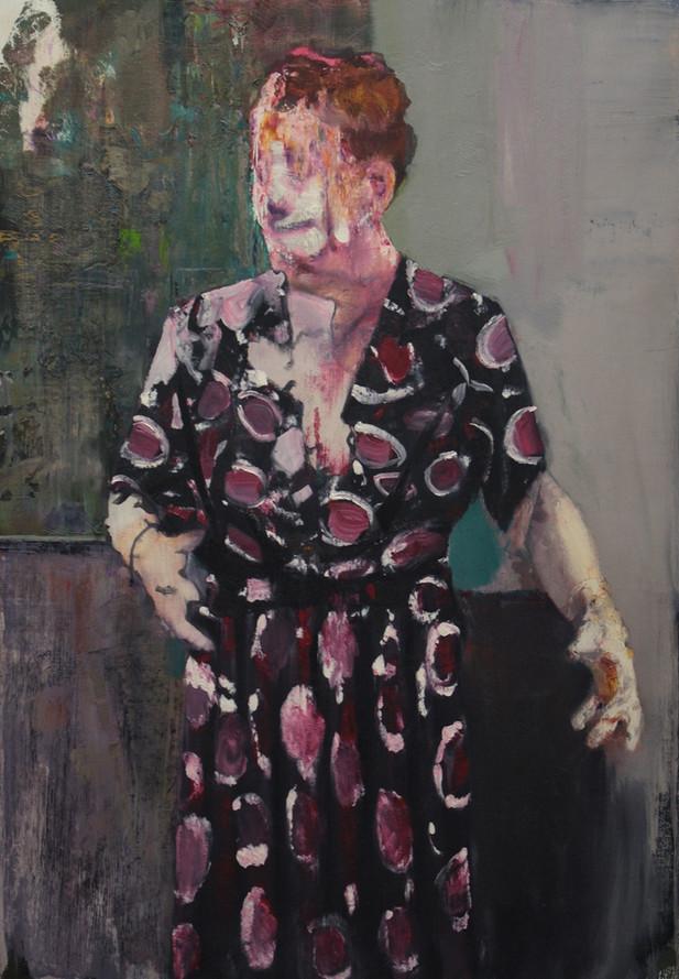 ADRIAN GHENIE Pie Fight Interior 9, 2012 oil on canvas 115 x 80 cm