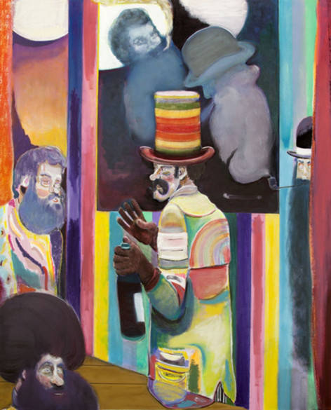 RYAN MOSLEY A Continuing Conversation, 2017 oil on canvas 150 x 120 cm