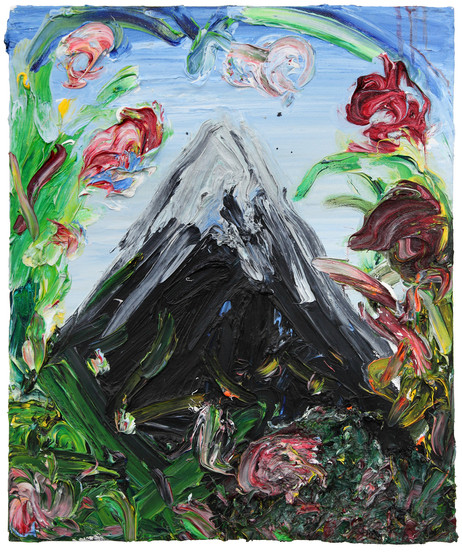 ARMEN ELOYAN Landscape painting V, 2013 oil on canvas 60 x 50 cm