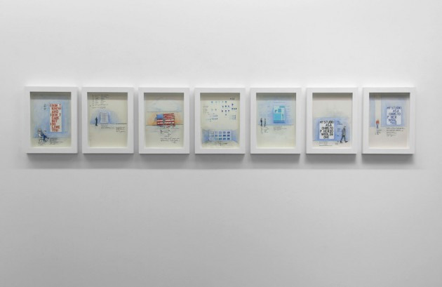 SERGIO DE BEUKELAER, Painting One, 2008