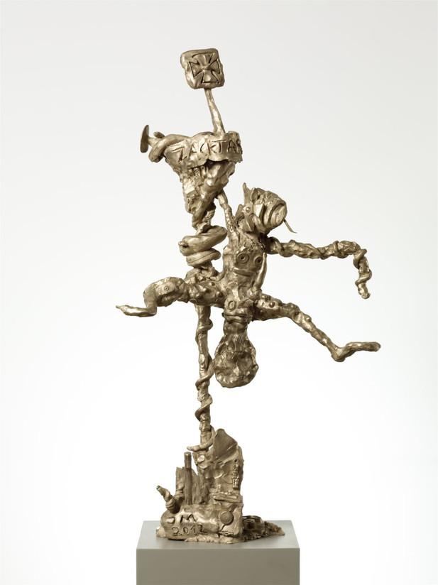 JONATHAN MEESE, ZACKTARZANILLÉ (FUNKTION SCHMORGURKE), 2012 bronze 130 x 95 x 50 cm edition of 3 and 1 A.P.