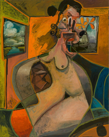 ANTON HENNING, Pin-up No. 198, 2016