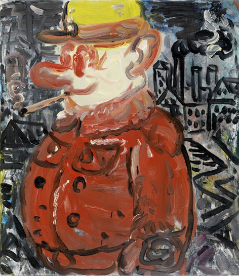 ARMEN ELOYAN 6 pm, 2011 oil on canvas 80.5 x 70.5 cm