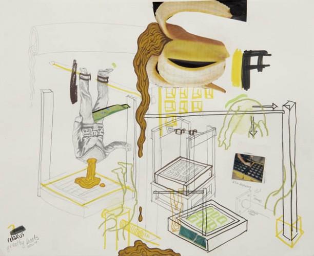 ADAM JANES, Relaxus gravity boots, 2008