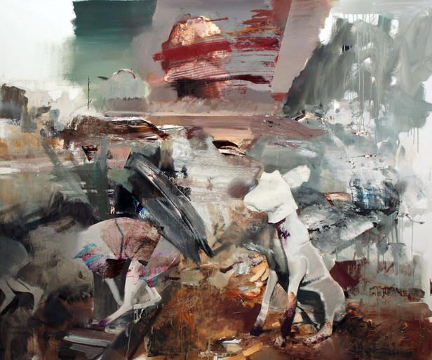 ADRIAN GHENIE The Devil 3, 2010 oil on canvas 200 x 240 cm