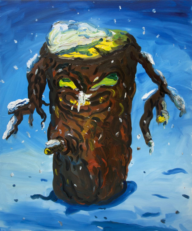 ARMEN ELOYAN Trunk Painting A.T. 2, 2018