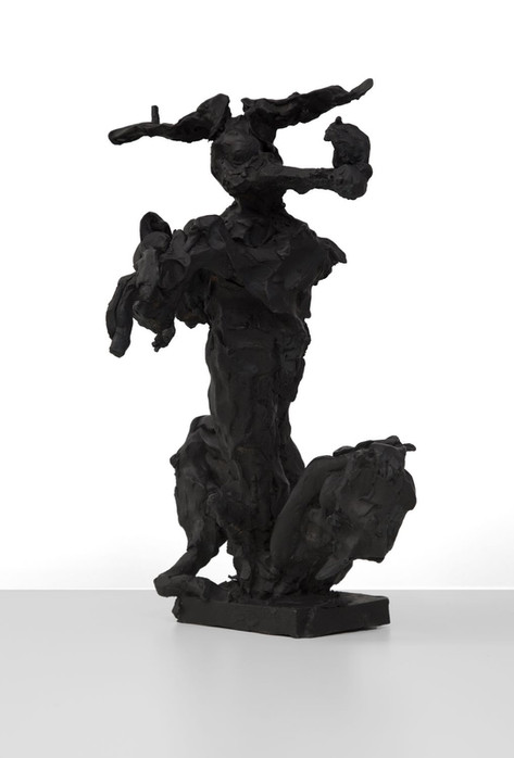 PETER ROGIERS Looney Tunes, 2017 patinated bronze 41 x 33 x 18 cm
