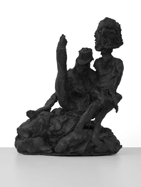 PETER ROGIERS Puppeteer, 2017 patinated bronze 48,5 x 27 x 41 cm