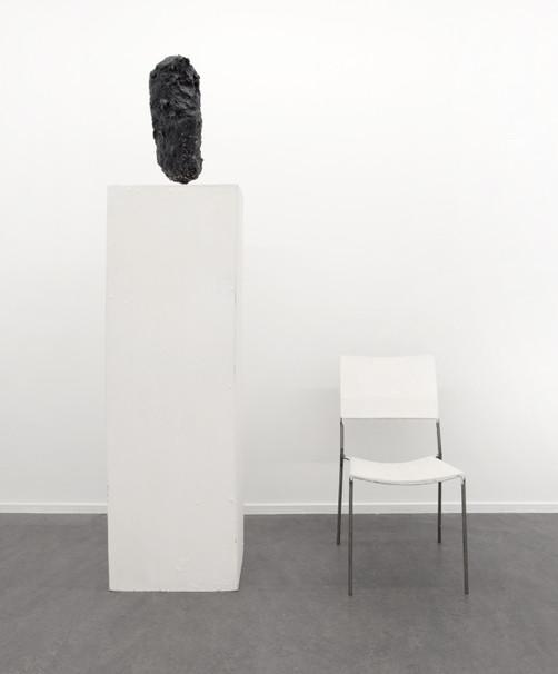 FRANZ WEST, Chaise à sculpture sur socle, 1996