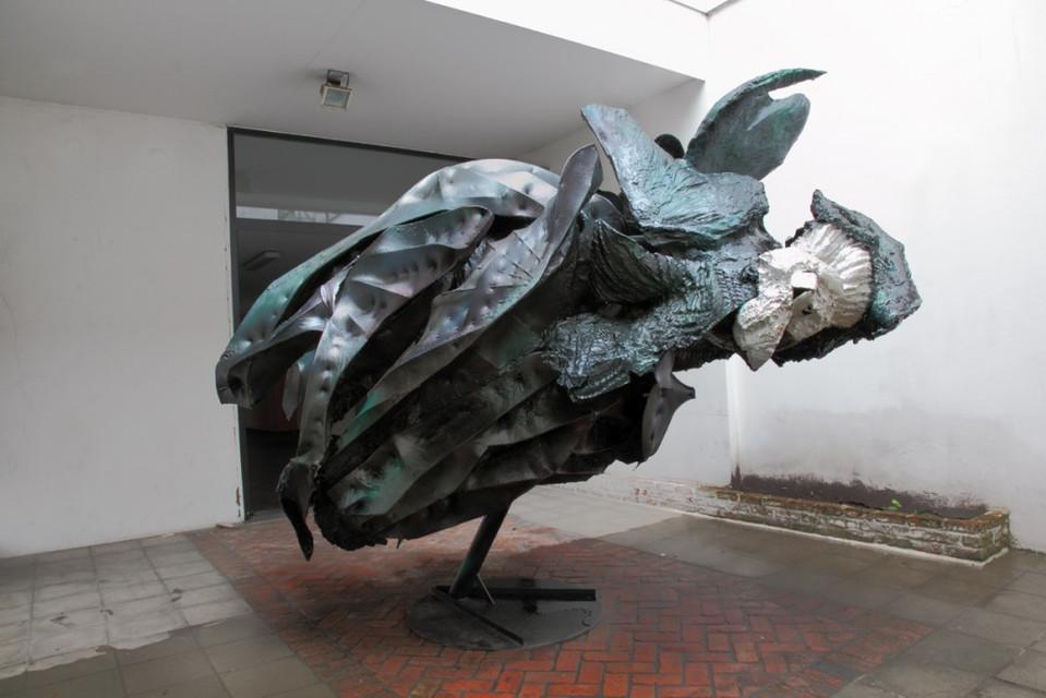PETER ROGIERS, The Yard, 2011
