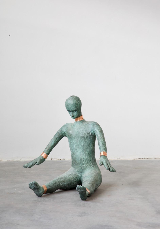 HENK VISCH Daytripper, 2018 - 2021 bronze, copper 95 x 90 x 70 cm edition of 2