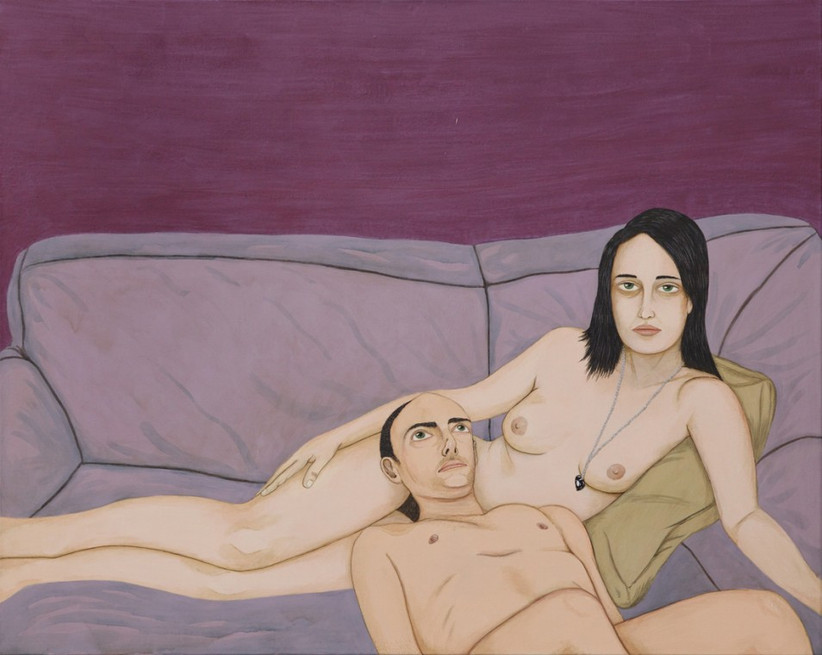 ED TEMPLETON, Portrait of Dennis and Jamie, 2012