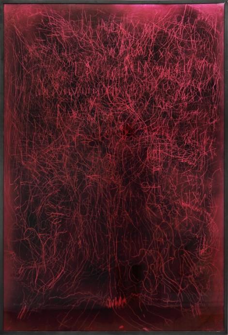 EDWARD LIPSKI, Mystical Vandalism XVI, 2015