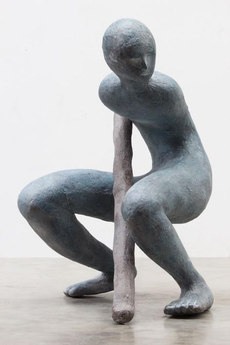 HENK VISCH L'obelisque perdu, 2016 bronze 112 x 95 x 90 cm edition of 2 and 1 A.P.