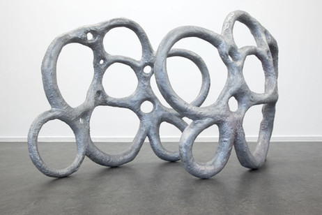 HENK VISCH De kus, 2017 aluminium 75 x 100 x 20 cm75 x 100 x 20 cm