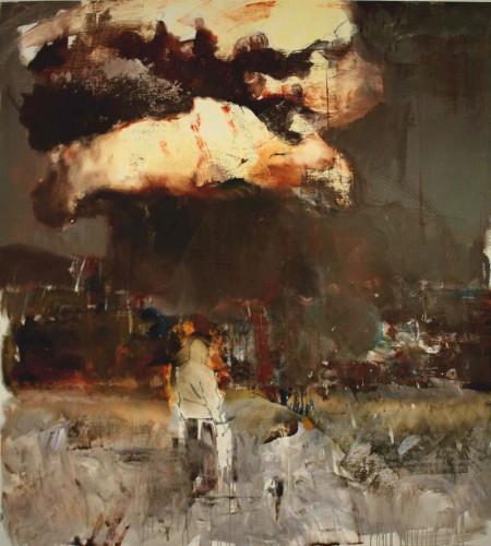 ADRIAN GHENIE Nougat 2, 2010 oil on canvas 220 x 200 cm