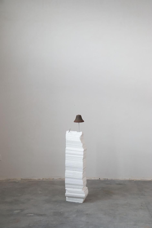 HENK VISCH Springtime, 2020 metal, styropor 97 x 23 x 18 cm