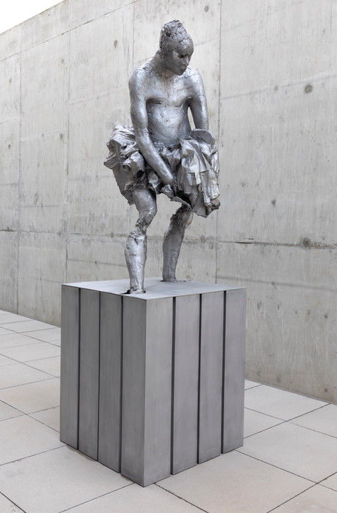 PETER ROGIERS Summer Breeze, 2020 aluminium 238 x 100 x 80 cm
