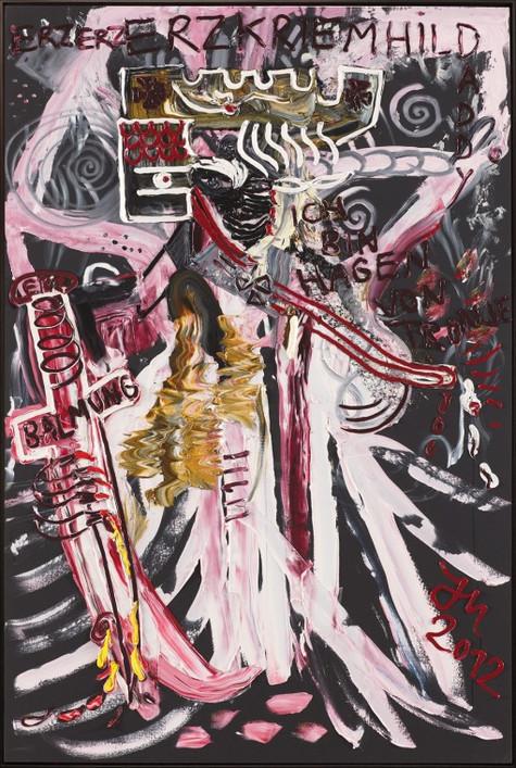 "JONATHAN MEESE, ""DER ""HEILLOSE GRAL DE KRIEMHAGEN VON TRONHILDJE"""", 2012"