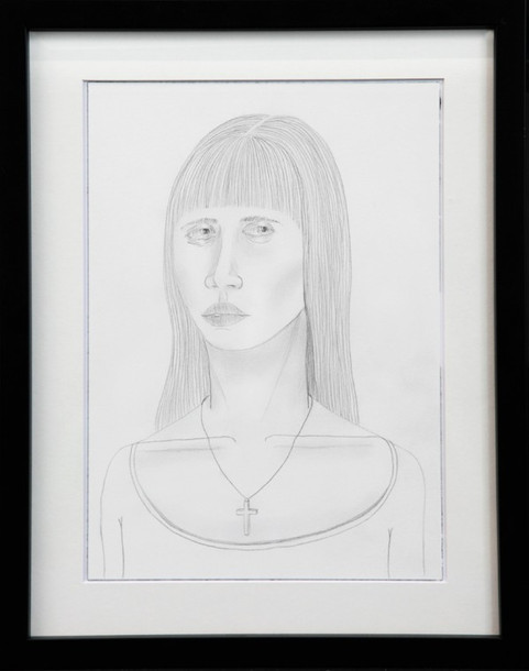 ED TEMPLETON, Untitled (girl with cross necklace), 2015