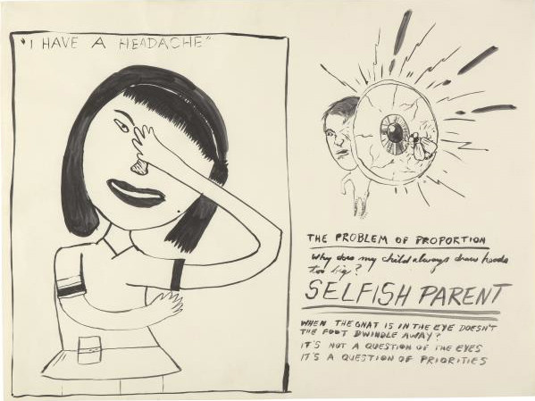 MIKE KELLEY, Untitled from the Sublime (Study for Dear Doctor), 1983