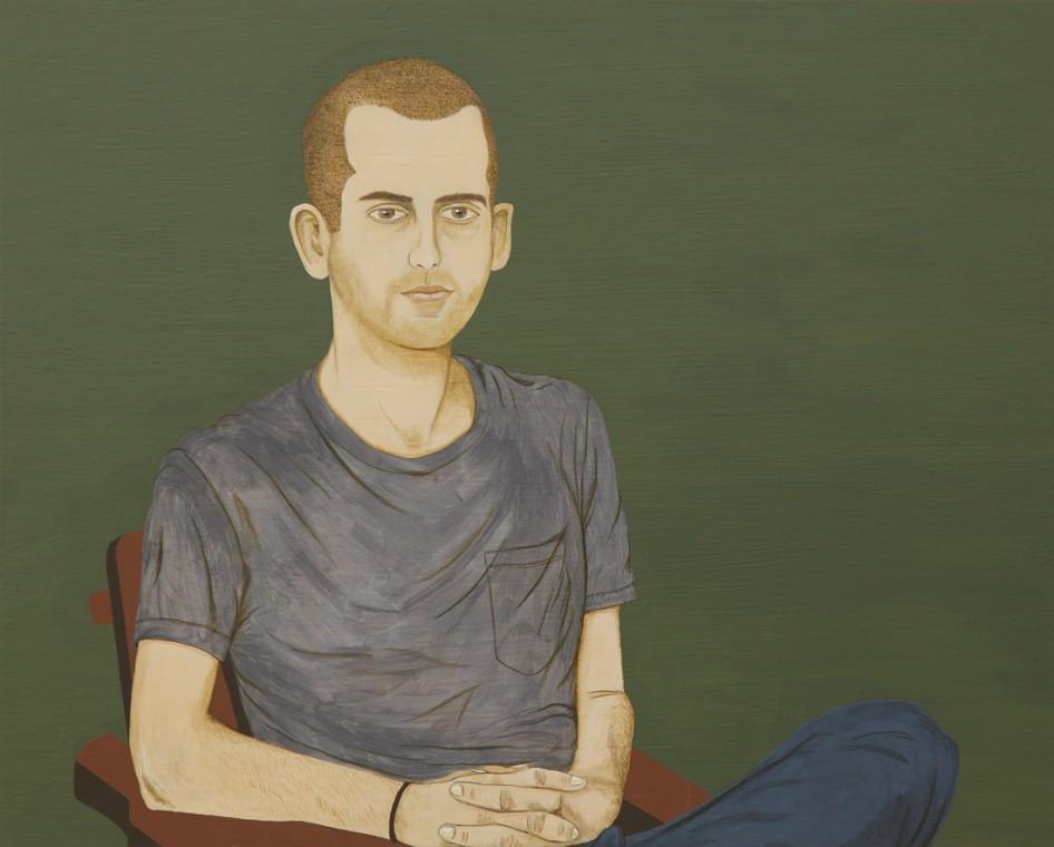 ED TEMPLETON, Portrait of Kevin Barnett, 2012