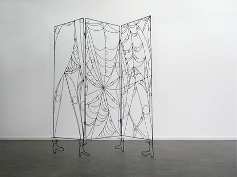 TOMASZ KOWALSKI Parawan, 2010 metal 160 x 150 x 2 cm