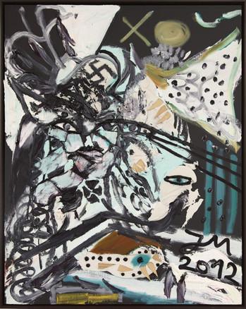 """JONATHAN MEESE, """"ERZERNTEPRODUKTIONSMELDUNG """"BRUTALLKUNST"""""""", 2012"""