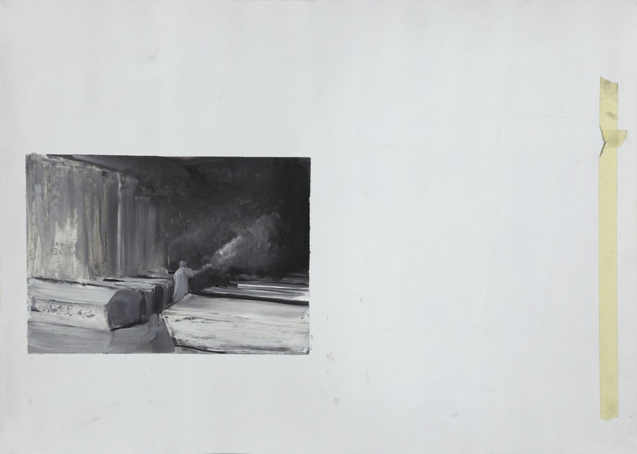 ADRIAN GHENIE, Study for The Morgue, 2007
