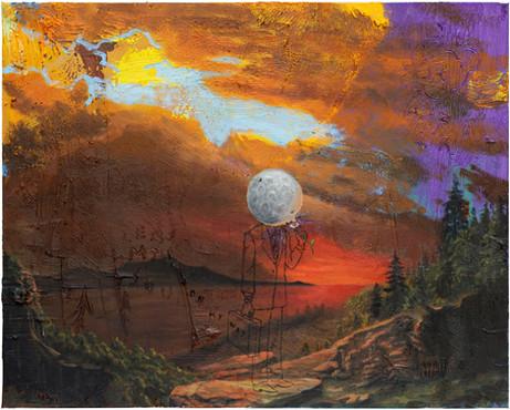 FRIEDRICH KUNATH On My Way., 2020-2021 oil on canvas, 61 x 76,2 cm
