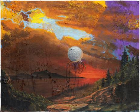 FRIEDRICH KUNATH On My Way., 2020-2021 oil on canvas 61 x 76,2 cm