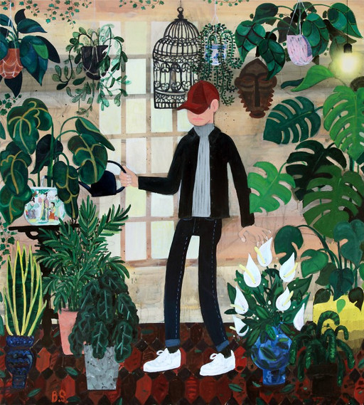 BEN SLEDSENS, Inside Gardener, 2016