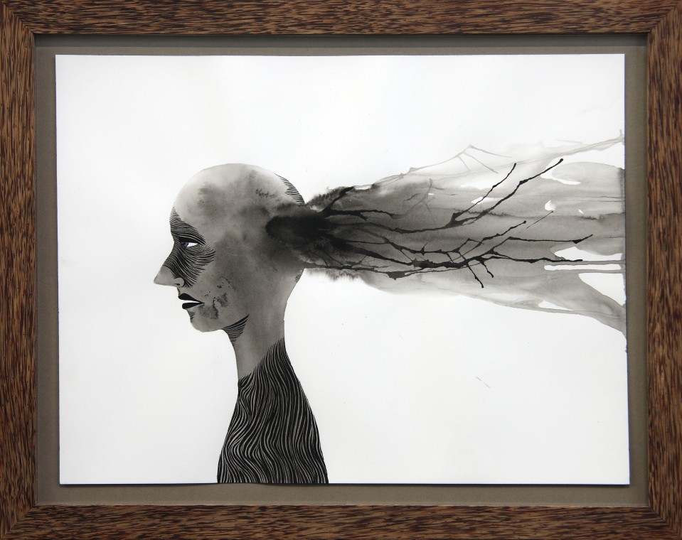 ED TEMPLETON, Exploded Head, 2008