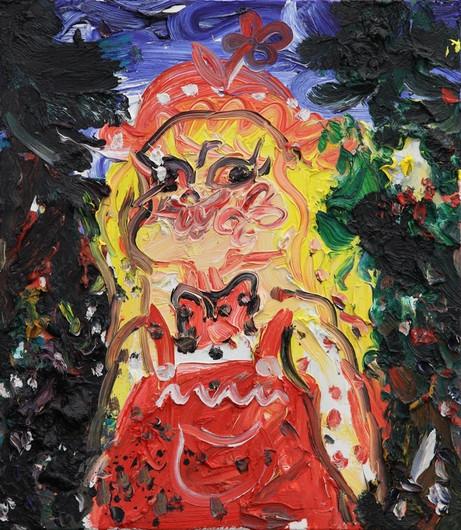 ARMEN ELOYAN Untitled, 2014 oil on canvas 80 x 70 cm