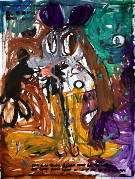 ARMEN ELOYAN Untitled (AR 10), 2018 oil on canvas 240 x 180 cm