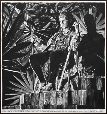 RINUS VAN DE VELDE, Every mental jungle needs its jungle king, 2015