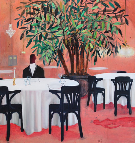 BEN SLEDSENS, Dinner for two, 2015