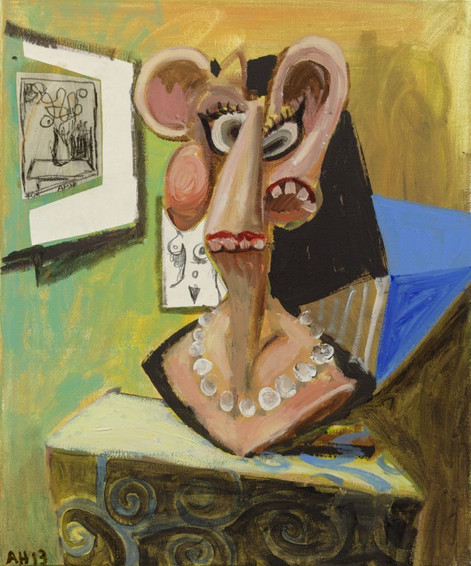ANTON HENNING, Portrait No. 328 (Amy), 2013