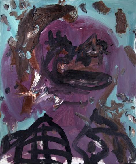 ARMEN ELOYAN Portrait, 2018 oil on canvas 60 x 50 cm