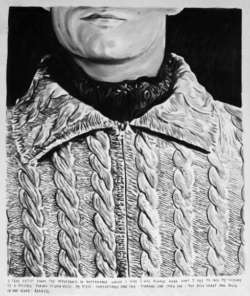 RINUS VAN DE VELDE, The costume of a disciple, 2011