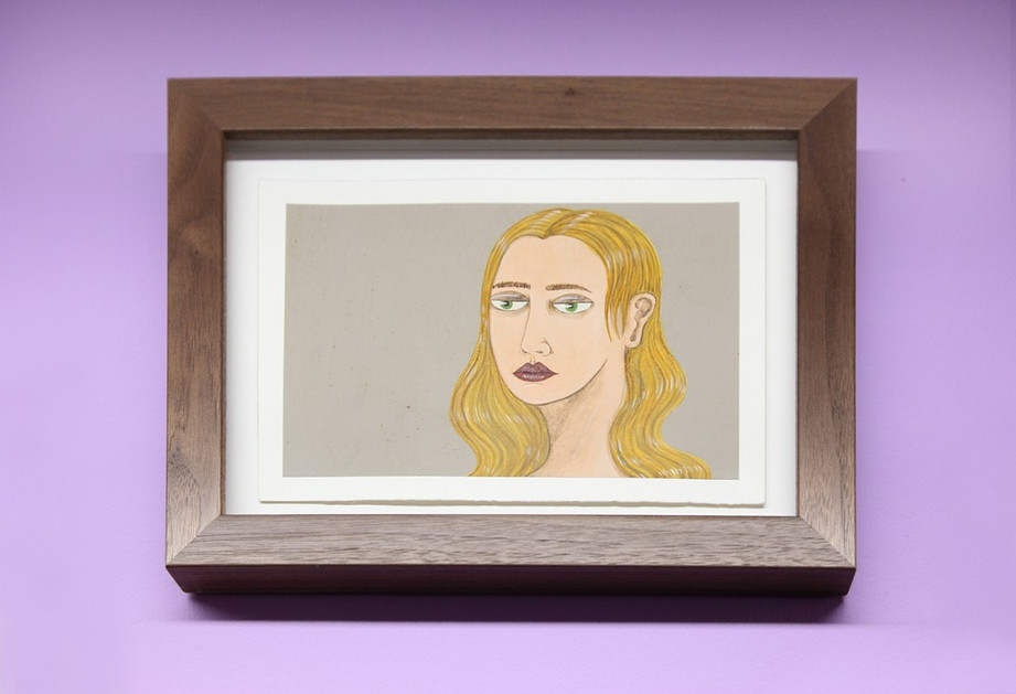 ED TEMPLETON, Untitled (Blonde Head), 2012