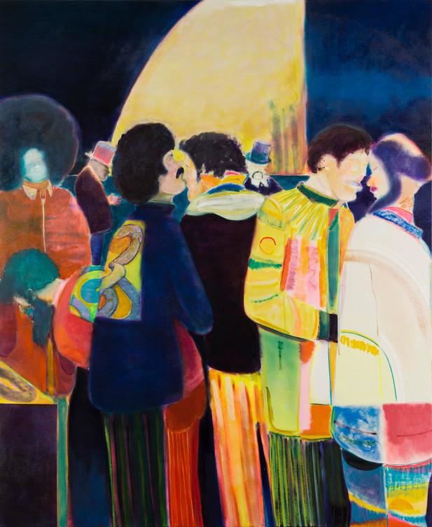 RYAN MOSLEY Young Cobra Club, 2016 oil on canvas 183,2 x 150 cm